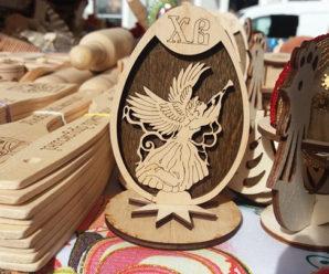 """В середмісті Франківська розгорнувся ярмарок """"Великодній кошик"""" (фото)"""