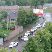 У Франківську конфлікт між поліцією та молодиком закінчився стріляниною (відео)