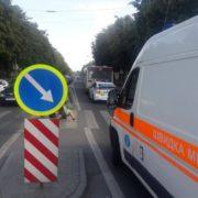 У Франківську на пішохідному переході маршрутка збила дитину (ФОТОФАКТ)