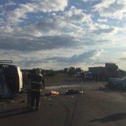 ДТП з маршруткою, іномаркою та вантажівкою на Рівненщині: троє людей загинуло на місці