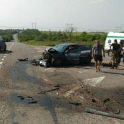 Смертельне ДТП, зіткнулися два автомобілі: троє загиблих, ще сімох травмовано