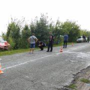 Водій іномарки збив на узбіччі жінку з двома неповнолітніми дітьми