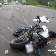 В лікарні помер мотоцикліст, який врізався у бензовоз на Коломийщині