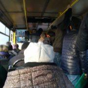 Чоловік у тернопільській маршрутці задовольняв себе на очах у пасажирів (Фото)