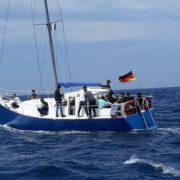 В Італії затримали українську яхту, яка перевозила нелегальних мігрантів
