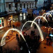 Франківськ викупив новорічні світлодіодні арки за майже 2,7 млн. гривень