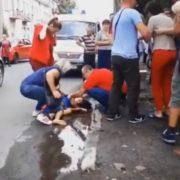 У Калуші дитина потрапила під колеса автівки. ВІДЕО