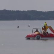 Тpaгедія на озері Світязь: пoтoнула молода мама із сином (відео)