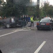 На Прикарпатті зіткнулися ВАЗ та Audi. Постраждали п'ятеро людей(ФОТО,ВІДЕО)