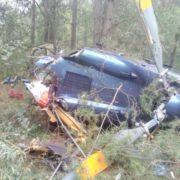 У мережі з'явилося відео падіння гелікоптера у Києві