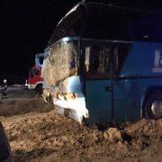 У Польщі в аварію потрапив автобус, який їхав з Варшави до Коломиї (ФОТО)