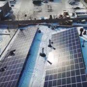 На Закарпатті будують сонячну електростанцію