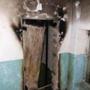 В Івано-Франківську загорілась ліфтова шахта