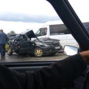 Страшна аварія на Прикарпатті: рейсовий бус не розминувся з іномаркою