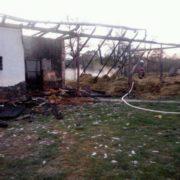 На Прикарпатті дотла згорів житловий комплекс