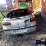 Прикарпатець спалив машину сестри (фото+відео)