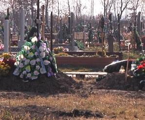 Землі під поховання у Франківську вистачить приблизно на три роки