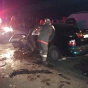 Смертельна аварія на Тернопільщині. Водій легковика загинув на місці пригоди (ФОТО +18)