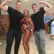Дівчина з Калуша перемогла на Кубку із фітнес-бікіні в Чехії (відео)
