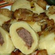 Галицький рецепт: галушки з м'ясом