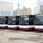"""Перші """"турки"""" в Україні: у Франківську офіційно презентували нові комфортабельні комунальні автобуси (фото)"""
