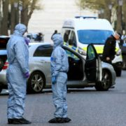 Автомобіль українського посла у Лондоні протаранив невідомий (фото)