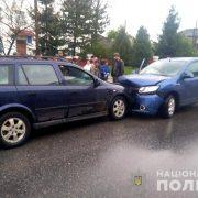 На Прикарпатті нетверезий і неповнолітній водії вчинили ДТП, є травмовані