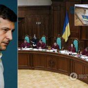 КСУ визнав конституційним указ Зеленського про розпуск Ради