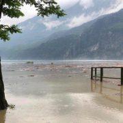 Через сильні повені на півночі Італії неподалік від озера Комо евакуювали людей