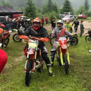 У мальовничому прикарпатському селі відбувається Чемпіонат України з гірського мотокросу (фото+відео)