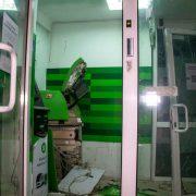 У Калуші чоловік намагався обікрасти банкомат та термінали