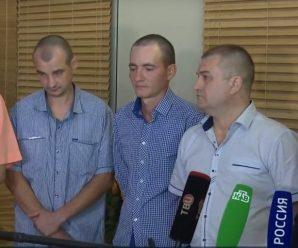Показали перше фото звільнених із полону українців