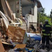 На Закарпатті вибухнув будинок. Постраждав 2-річний хлопчик (ФОТО)