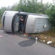 На Прикарпатті п'яний водій скоїв ДТП і втік (ФОТО)