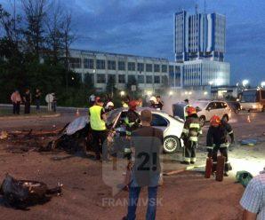 У Франківську трапилась масштабна ДТП, є п'ятеро постраждалих (ФОТО,ВІДЕО)