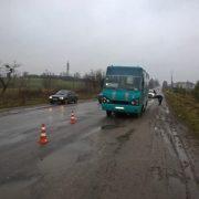 На Прикарпатті водій автобуса збив дитину