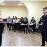 Вперше прикарпатські правоохоронці вивчають українську жестову мову (фото)