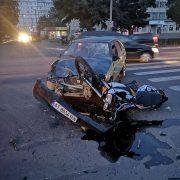 У Калуші на проспекті сталася ДТП — водій мотоцикла і пасажирка в лікарні