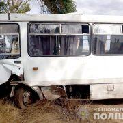 Смертельне зіткнення легковика та автобуса: моторошні кадри з місця ДТП