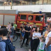 У Івано-Франківську пожежа в пам'ятці архітектури