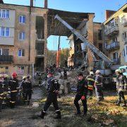 Обвал будинку в Дрогобичі: пошуково-рятувальні роботи завершені. Знайдено вісім тіл