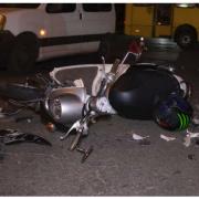 """На Тисмениччині п'яний водій на """"євроблясі"""" протаранив мопед: двоє травмованих"""