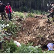 На Рожнятівщині знайшли криївку, де ймовірно жили очільники пропаганди ОУН (ВІДЕО)