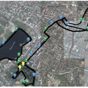 Сьогодні через півмарафон перекриють центр Франківська: комунальний транспорт змінив графік руху