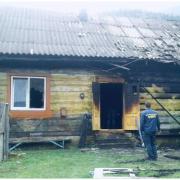Яремчанська поліція затримала чоловіка, який підпалив будинок знайомої (ФОТО)