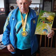 60-річний прикарпатець подолав 24-годинний біговий марафон (Фото)