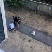 Поліцейські відвезли на цвинтар і побили затриманого