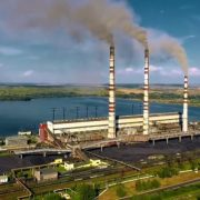 Бурштинська ТЕС у трійці найбільших забруднювачів повітря України