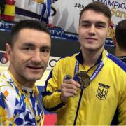 Франківчанин Данило Демчишин — чемпіон Європи з таеквон-до (ФОТО)
