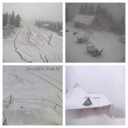 Зима вже близько: Карпати засипало снігом (фотофакт)